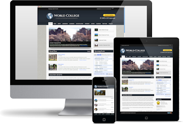 Website design mockup by Las Vegas Website Design