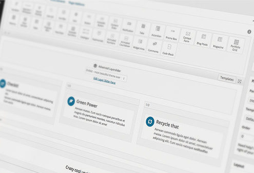 Drag and Drop WordPress Editor