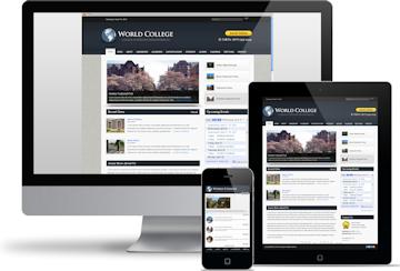 Website design mockup by Las Vegas Website Design